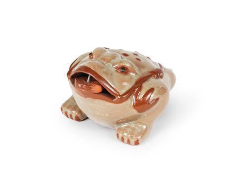 Чайная фигурка из исинской глины с эмалью