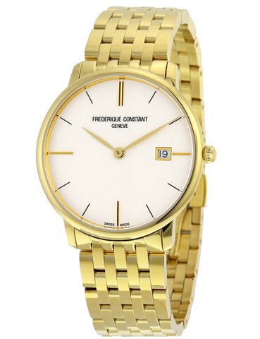 Часы мужские Frederique Constant FC-220V5S5B Slimline