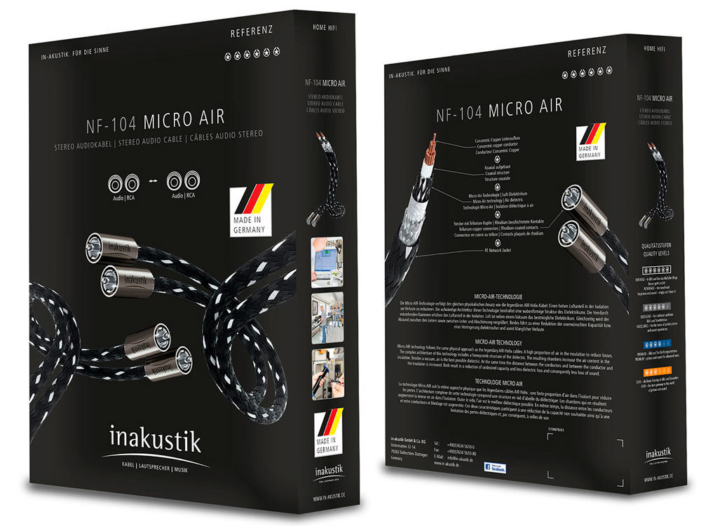 Inakustik Referenz NF-104 Micro Air