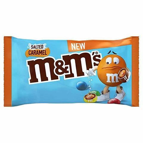 Шоколадное драже M&M'S Salted Caramel с карамелью и солью 36 гр