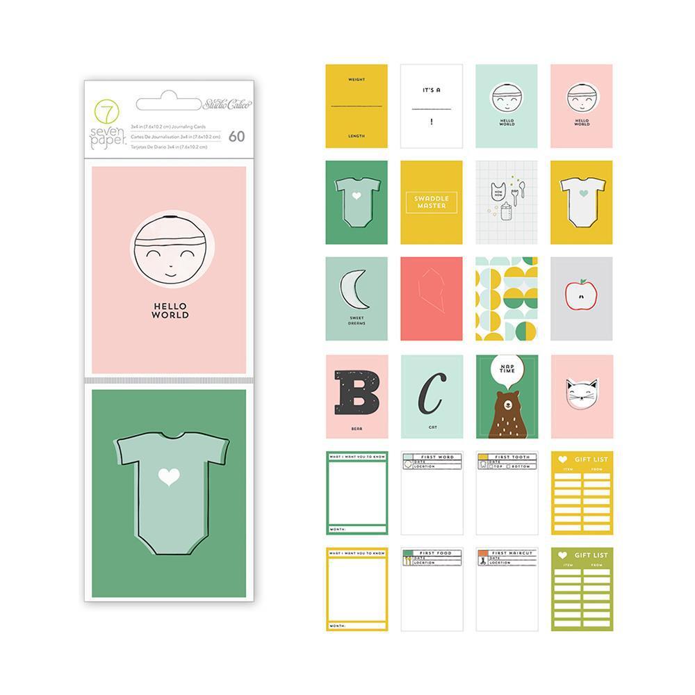 Набор карточек для Project life 60 шт