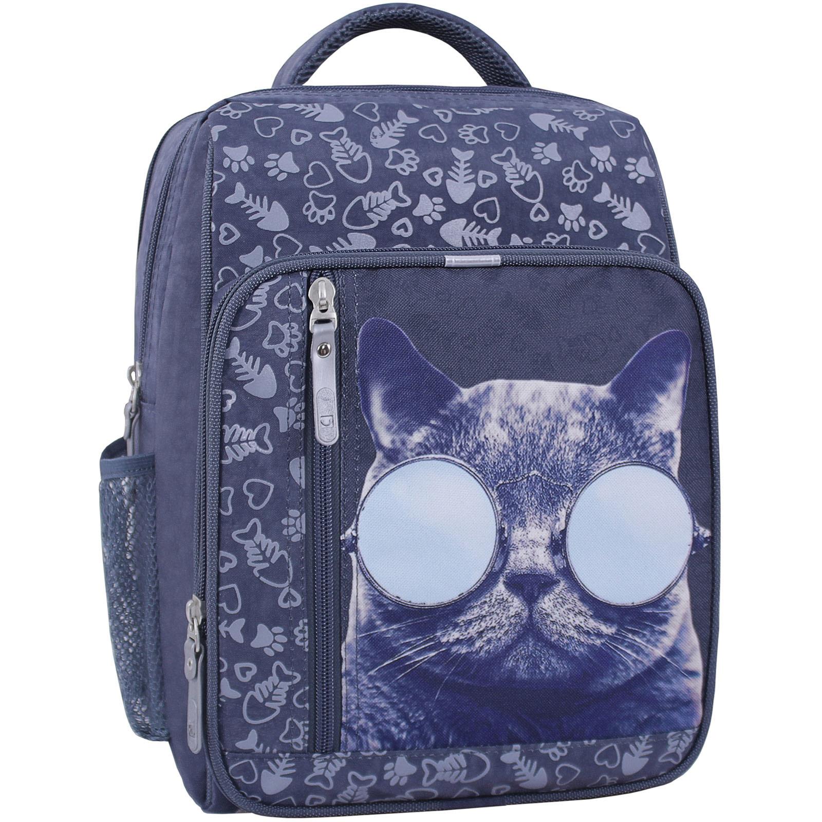 Рюкзак школьный Bagland Школьник 8 л. 321 серый 611 (0012870) фото 1