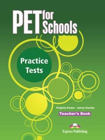 PET for Schools Practice Tests. Teacher's Book (overprinted). Книга для учителя +(аудио бесплатно)