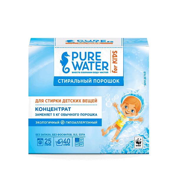 Стиральный Порошок детский Pure Water 0,8 кг