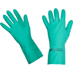 Перчатки латексные Vileda Professional Многоцелевые повышенная прочность зеленые (размер 9.5-10, ХL, артикул производителя 101022)