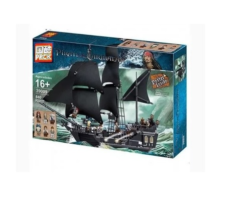 Конструктор PRCK Pirates of the Caribbean 39009 Черная Жемчужина