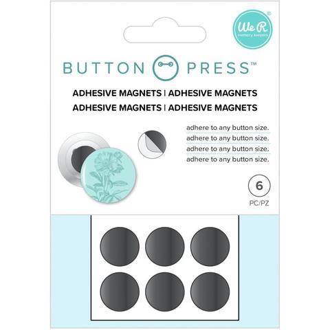 Магниты для кнопок и пуговиц Adhesive Magnets by We R Memory Keepers-6шт