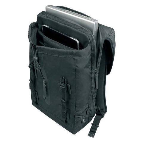 Рюкзак Victorinox Altmont 3.0, Flapover 17'', черный, 32x13x48 см, 19 л