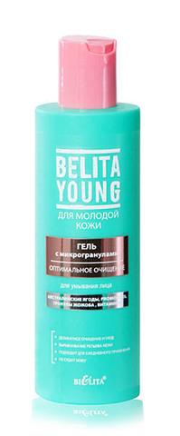 Белита Young Гель для умывания лица с микрогранулами Оптимальное очищение 200мл