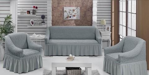 Набор чехлов на трехместный диван и два кресла Prete
