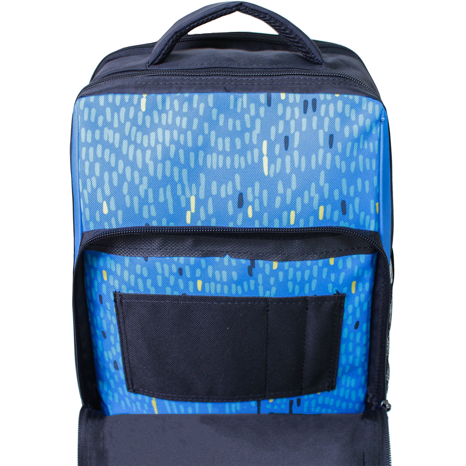 Рюкзак школьный Bagland Школьник 8 л. Черный 370 (0012870)