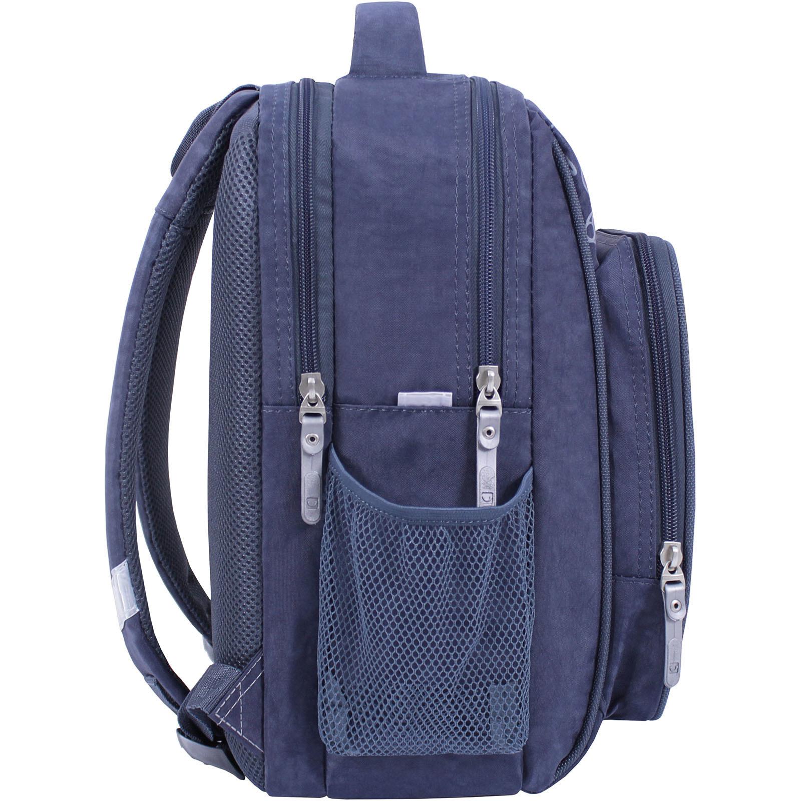 Рюкзак школьный Bagland Школьник 8 л. 321 серый 611 (0012870) фото 2