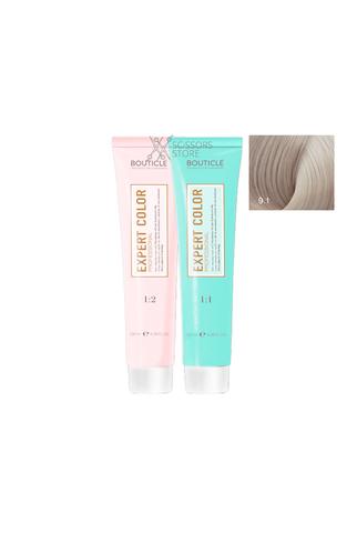 Expert Color Hair Color Cream 9/1 блондин пепельный 100 мл