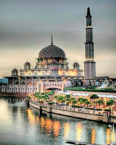 Алмазная Мозаика 40x50 Тюльпанная Мечеть (арт. HZ605)
