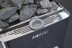 HARVIA Электрическая печь Wall Combi HSW900400S SW90 с парогенератором, без пульта
