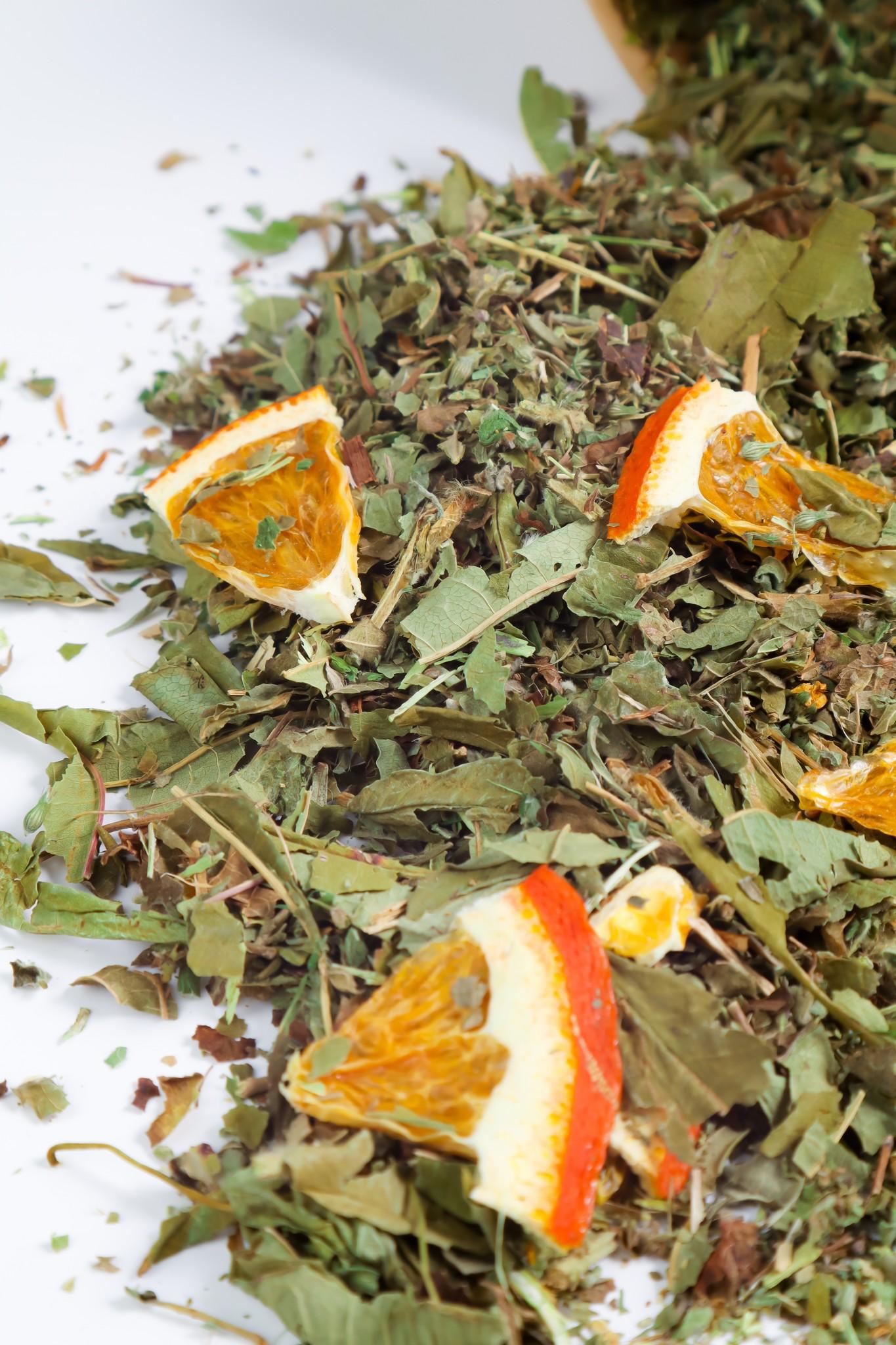 ЛИСИЧКИН ЧАЙ Травяной чай Контейнер биоразлагаемый крафт 70 грамм