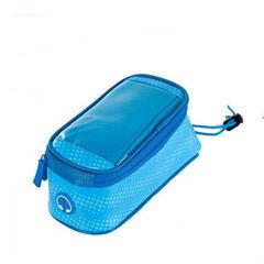 Велосипедная сумка на раму с отделением под смартфон Roswheel Polka(Синяя) M 121024PM-B