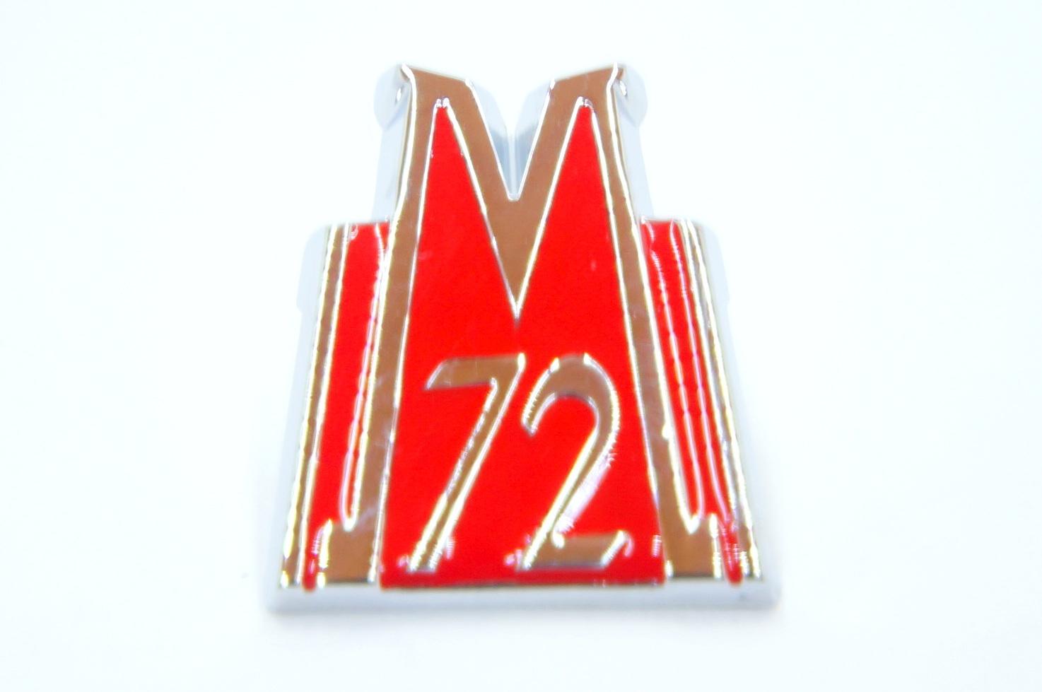 Эмблема капота Победа М72