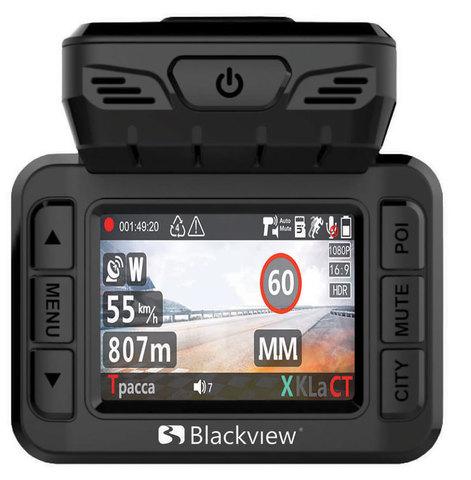 Комбо-устройство (видеорегистратор с радар-детектором и GPS) Blackview COMBO 2 GPS/GLONASS