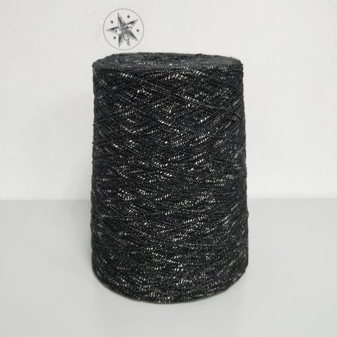 Igea, Pizzico, Хлопок 100%, Черный с белым, 440 м/100 г