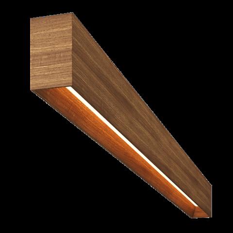 Подвесной светильник деревянный