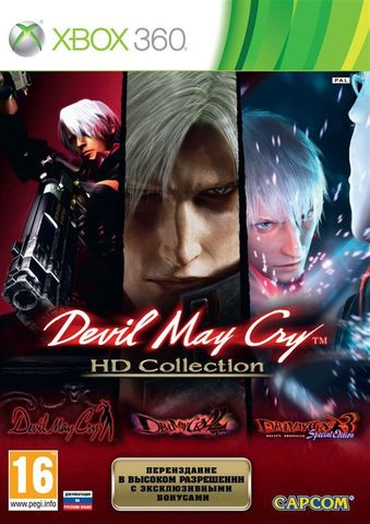 Devil May Cry HD Collection (Xbox 360, английская версия)