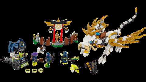LEGO Ninjago: Дракон Сэнсэя Ву 70734 — Master Wu Dragon — Лего Ниндзяго