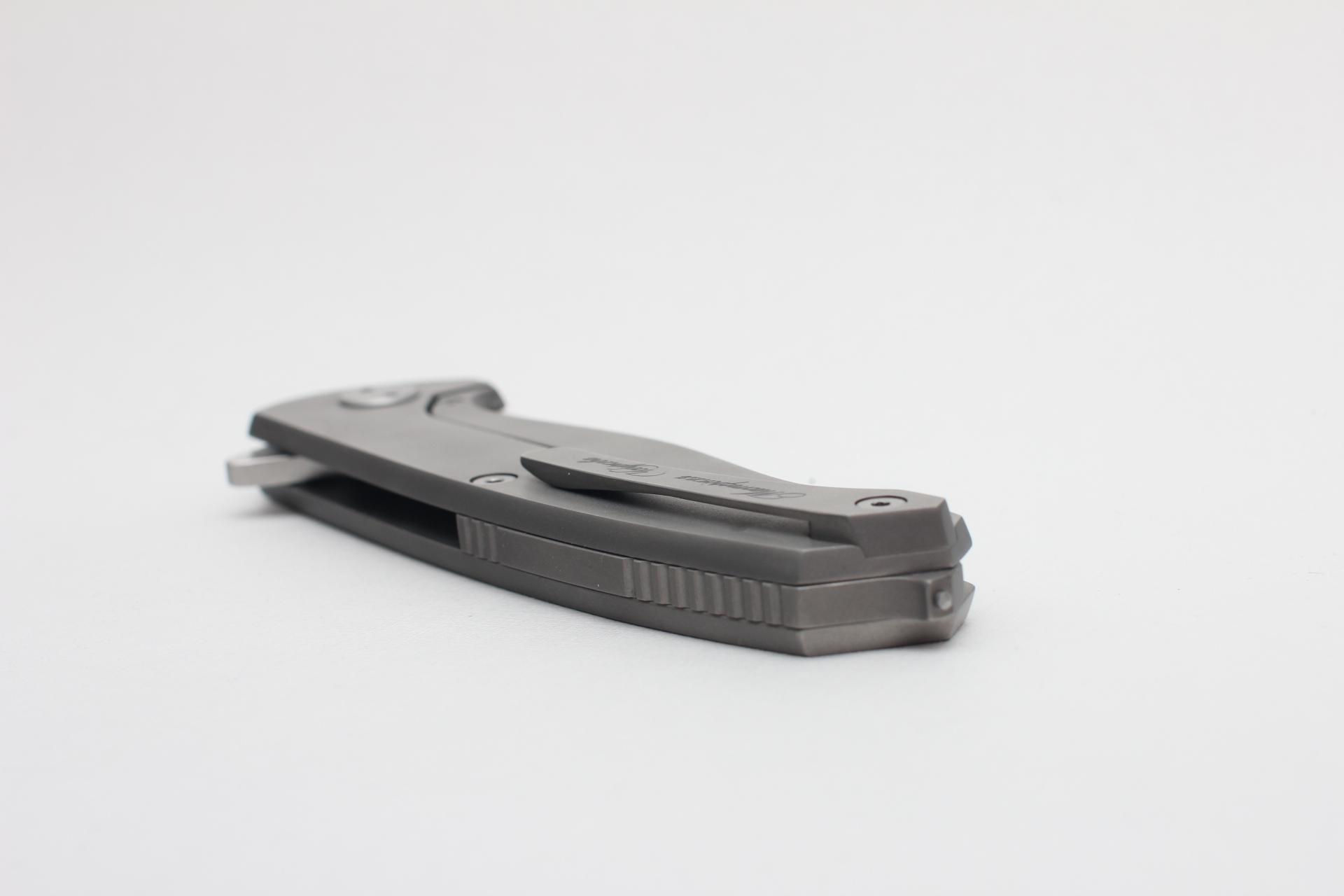 Нож Чебуркова Волк М390 Титан лимитированный - фотография