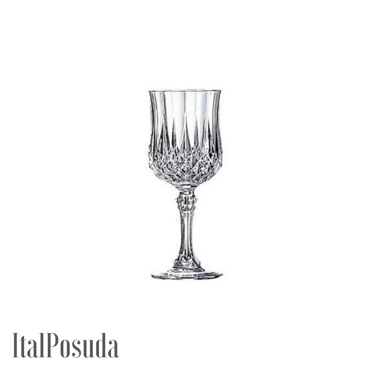 Набор бокалов для вина Eclat Cristal d'Arques Longchamp (Лонгшамп), 6 шт L7552