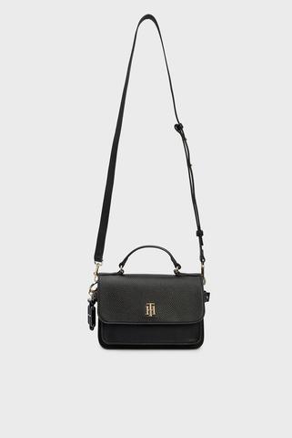Женская черная сумка TH SOFT CROSSOVER Tommy Hilfiger
