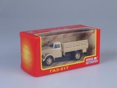 GAZ-51T beige 1:43 Nash Avtoprom
