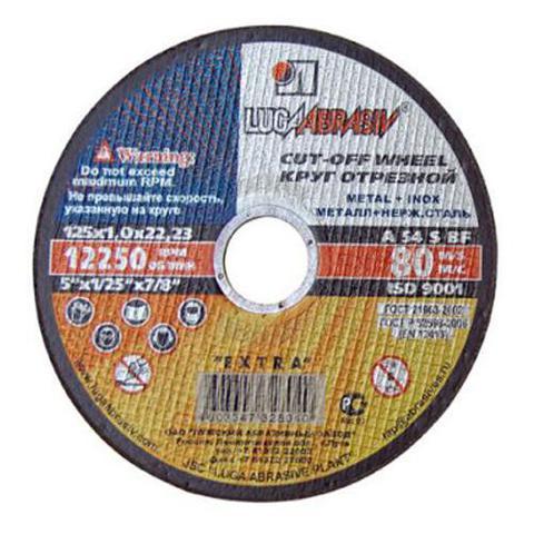 Диск отрезной по металлу 150*2.5*22.2мм Луга в интернет-магазине ЯрТехника