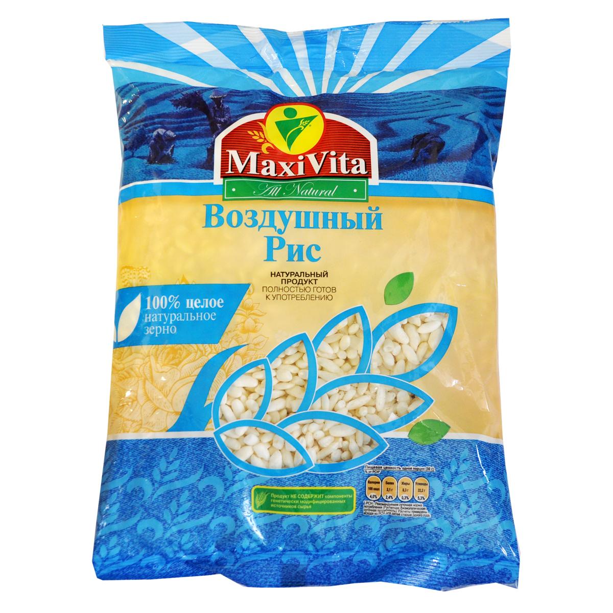 Воздушные зёрна риса MaxiVita 125 гр