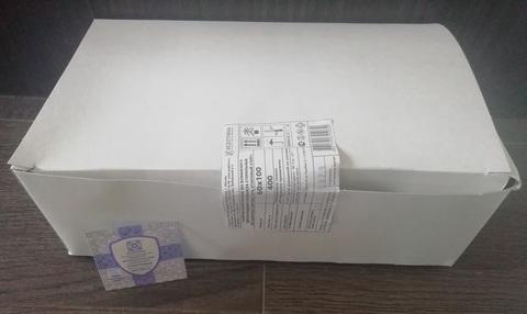 Спиртовая салфетка 60х100мм, 400 шт/уп. Асептика