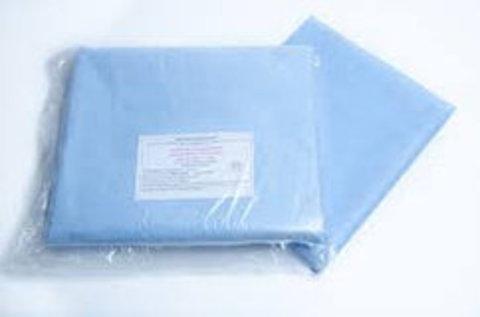 Простыня спанбонд 140х70 стерильная