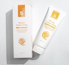 Крем-маска антистресс для сияния кожи Niacin cream Mask  , iSOV, 250 мл.