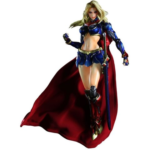 ДС комикс фигурка Супергерл (копия) — Supergirl DC Comics Play Arts Kai (copy)