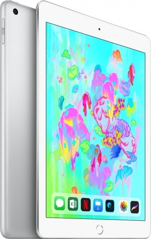 Планшет Apple iPad (2018) 128Gb Wi-Fi (Silver)