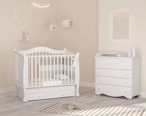 Детская кроватка с универсальным маятником Гандылян Моника