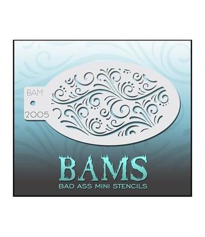 Трафарет BAMS 2005