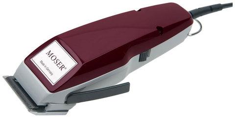 Машинка для стрижки Moser 1400 Edition, сетевая, 2 насадки, бордовая