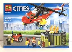 Сити 10829 Пожарная команда быстрого реагирования 274дет Конструктор