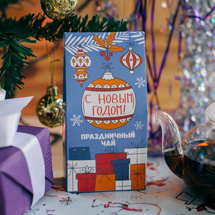 Купить подарочный чай на Новый год в Перми
