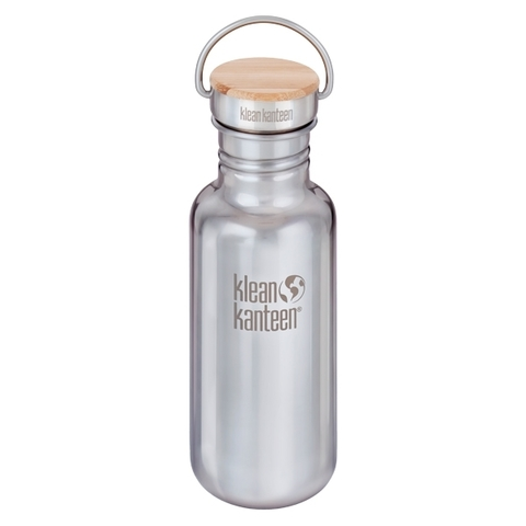 Klean Kanteen Trinkflasche Reflect 532 ml brushed stainless