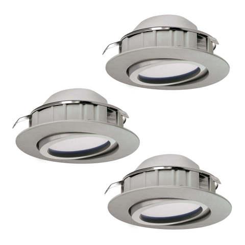 Комплект светильников светодиодных встраиваемых регулируемых и диммируемых Eglo PINEDA 95859