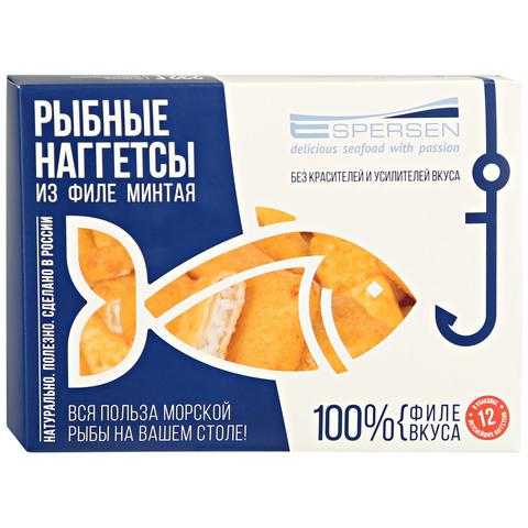 Рыбные наггетсы из филе минтая в кляре (232г)