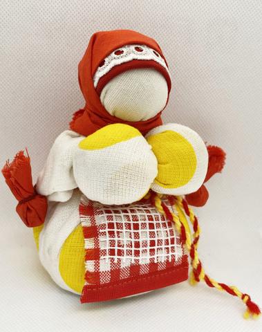 Славянская кукла оберег Кубышка Травница