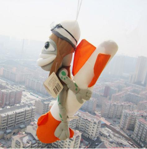 Игрушка лягушка Крейзи Фрог на ракете