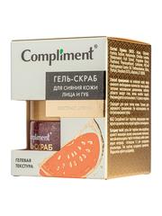 Compliment Гель-скраб для сияния кожи лица и губ с экстрактом арбуза