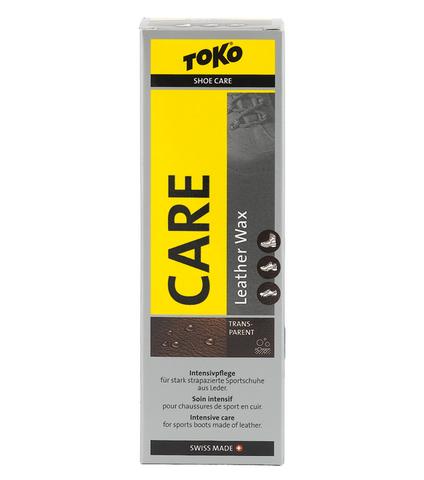 Картинка пропитка Toko Leather Wax Transparent - Silicone 75ml  - 1